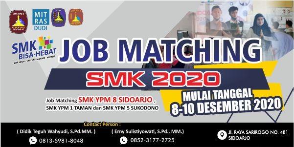 JOB MATCHING SMK SIDOARJO TAHUN 2020