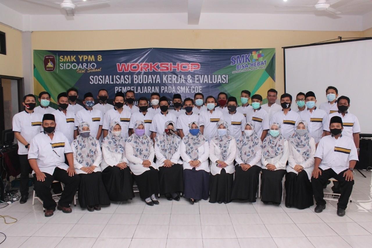 Workshop Sosialisasi Budaya Kerja & Evaluasi Pembelajaran Pada SMK COE
